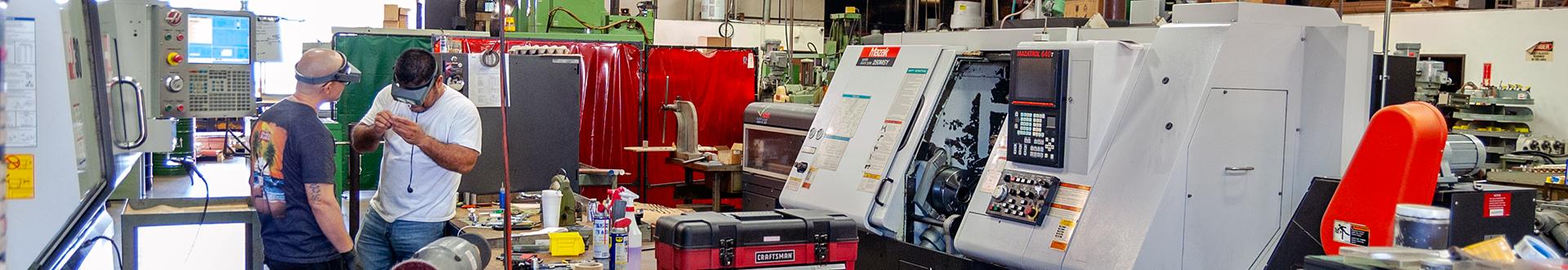 juell machine shop floor